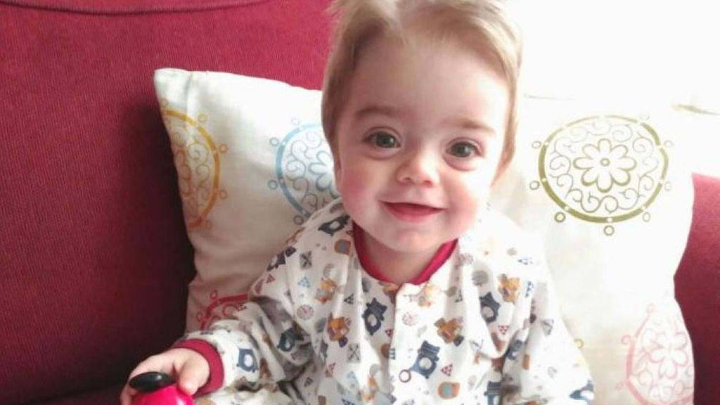 Rubén tiene 14 meses y necesita urgentemente un donante de médula