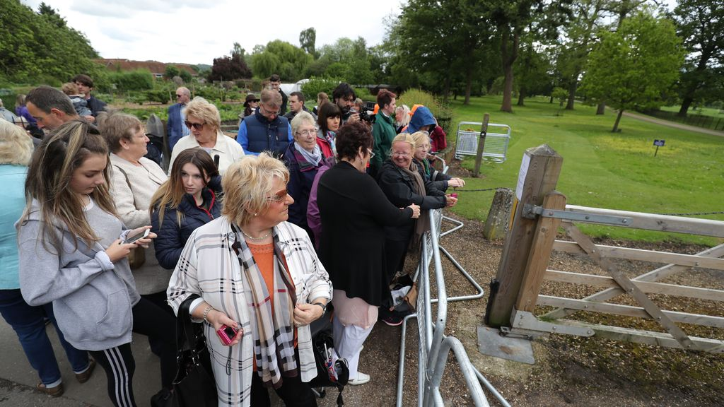 El enlace se celebra en la iglesia de Saint Mark's, en Englefield