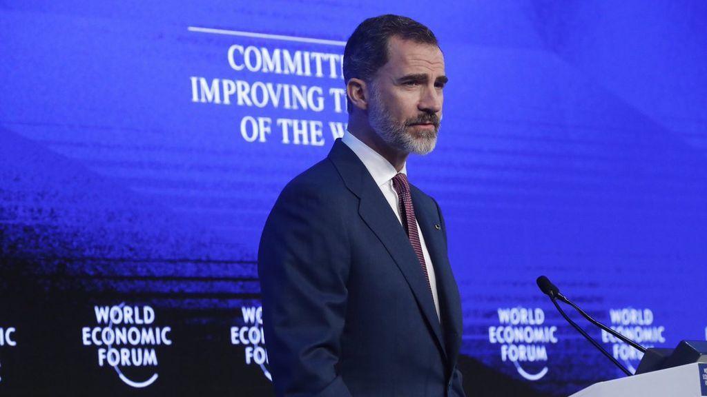 """Felipe VI pide """"aunar fuerzas"""" con Oriente Medio y África del Norte para ir hacia """"la paz"""""""