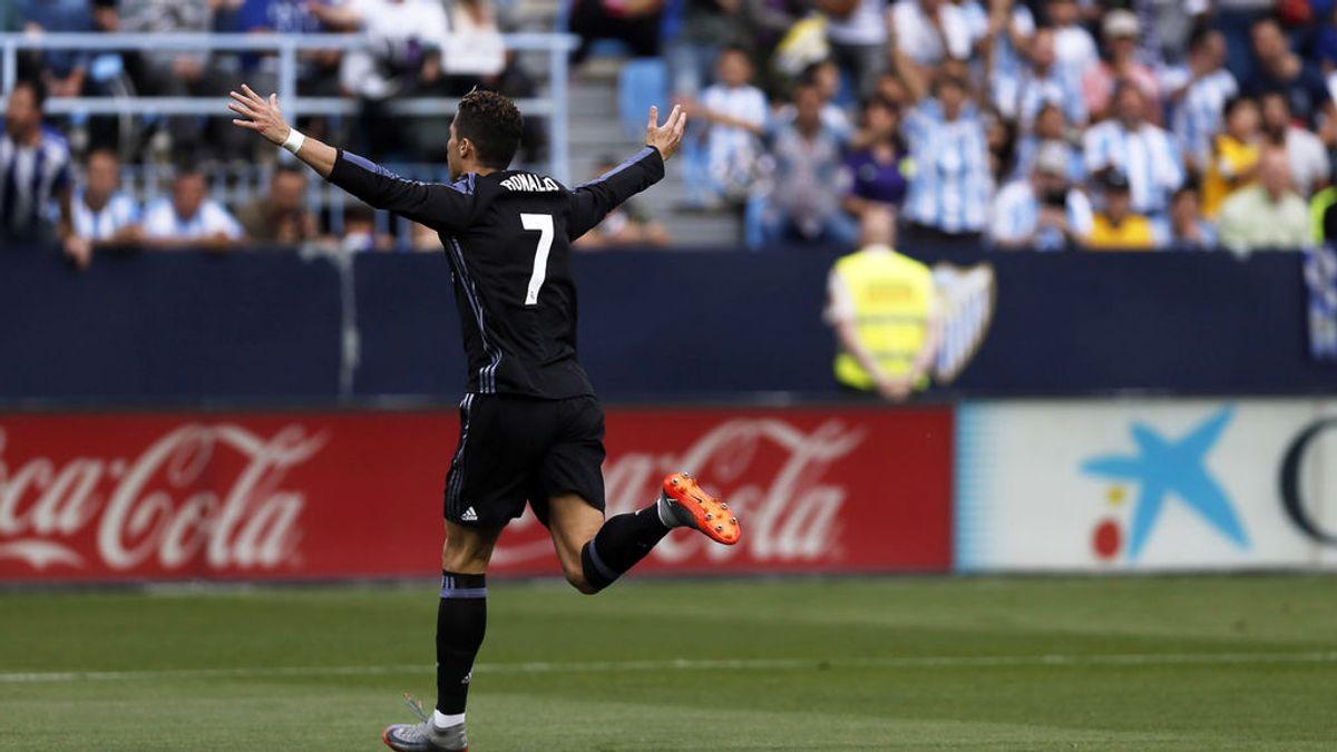 El Real Madrid gana en Málaga y se proclama campeón de Liga