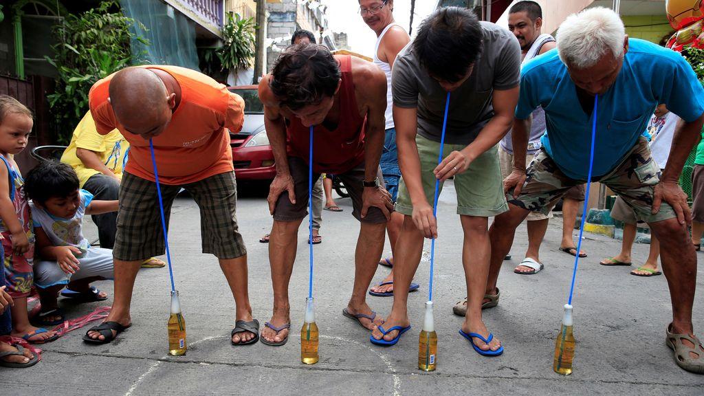 Juegos populares en Paranaque, Filipinas