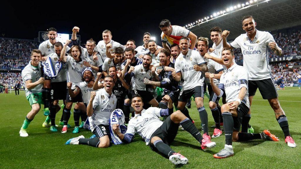 Las felicitaciones tuiteras al Real Madrid y su trigésimo título de Liga