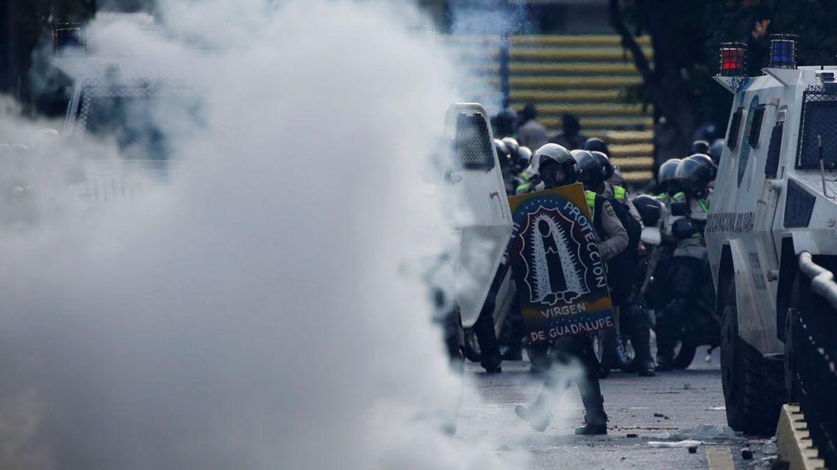 Al menos 46 heridos en una nueva jornada de protestas en Caracas
