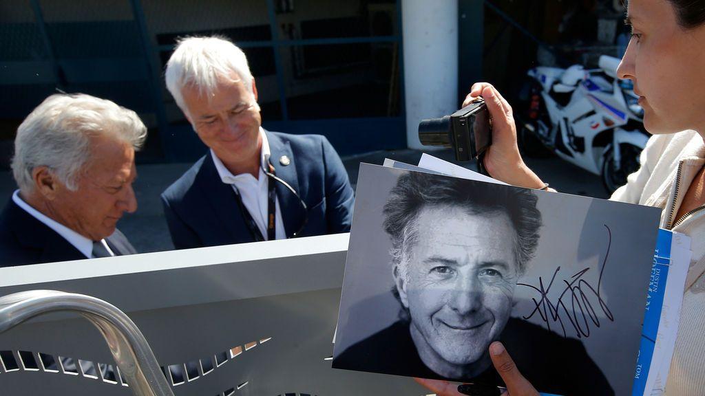 Dustin Hoffman en el Festival de Cannes