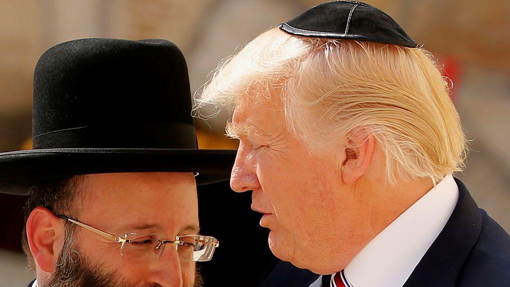 Donald Trump, en Jerusalén