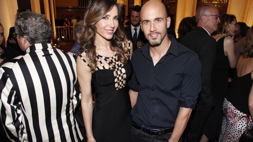 Paloma Lago y su pareja Daniel López