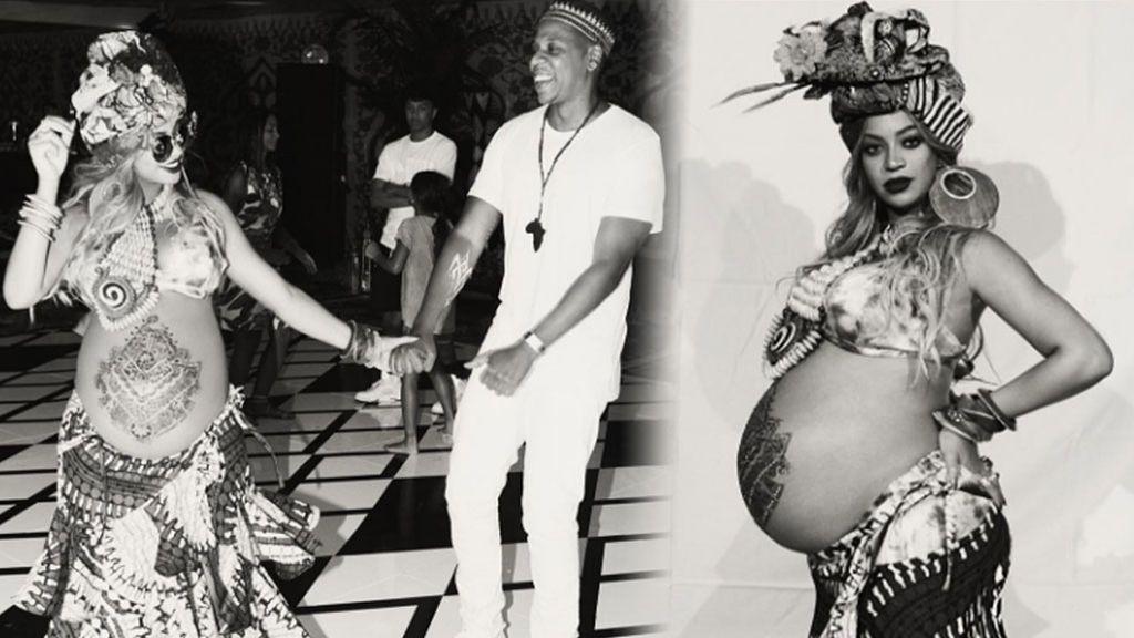 Así ha sido la fiesta 'babyshower' 100% africana de Beyoncé