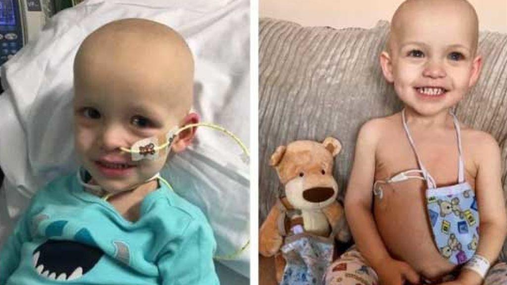 Un dólar para Dawson, la campaña para salvar del cáncer a un niño de 19 meses