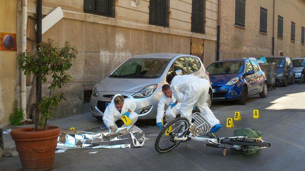 Asesinado el jefe mafioso la Cosa Nostra cuando iba en bicicleta por Palermo