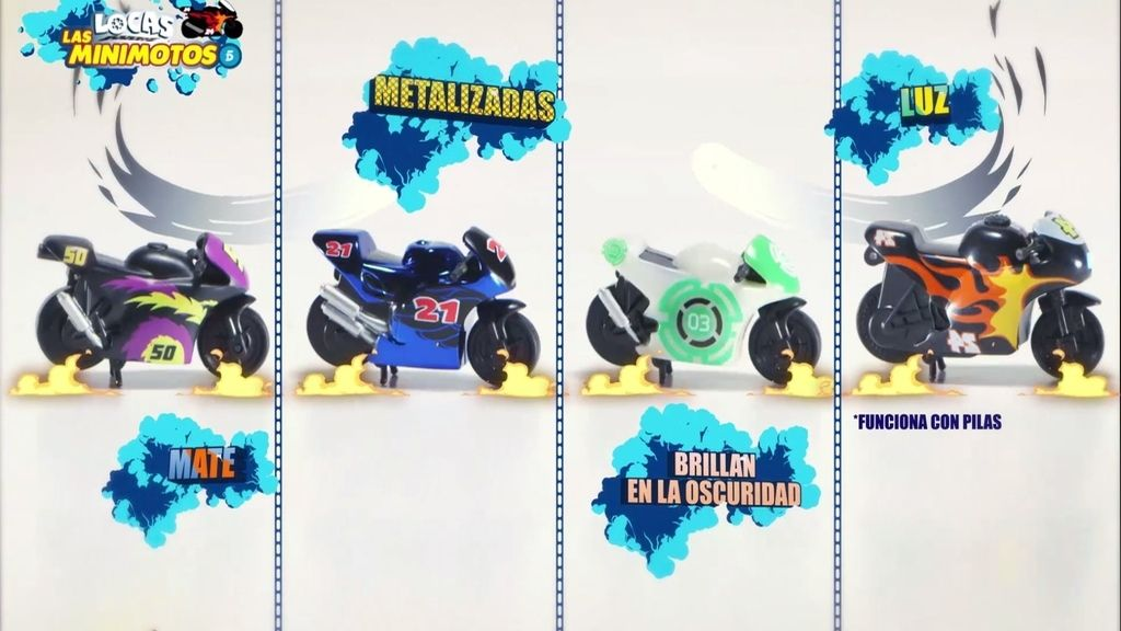 Las Locas Minimotos de Telecinco