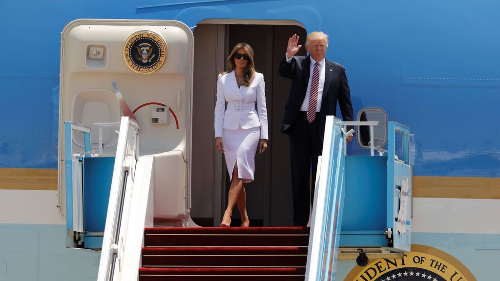 Trump comienza su visita a Israel y los Territorios Palestinos