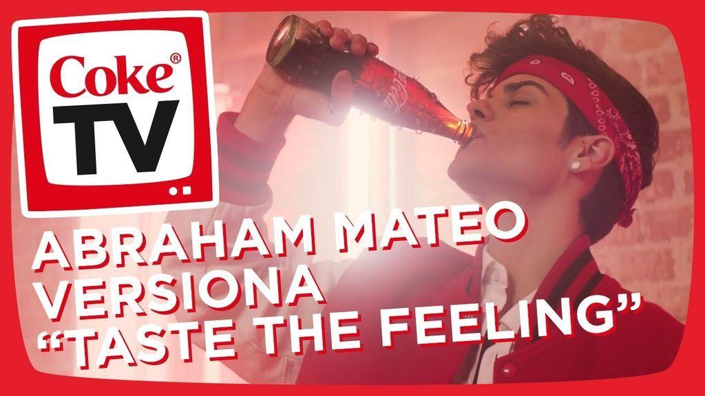 """¡Abraham Mateo nos canta """"Taste the Feeling"""" en su nuevo videoclip con Coca-Cola!"""