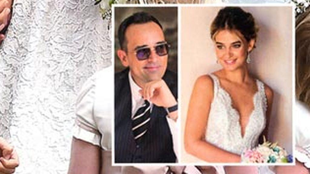 ¡Ya tenemos las primeras imágenes de Risto Mejide y Laura Escanes vestidos de novios!