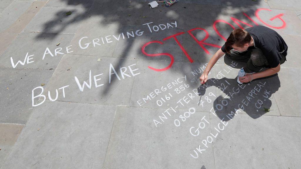 """""""Hoy estamos sufriendo pero somos fuertes"""""""