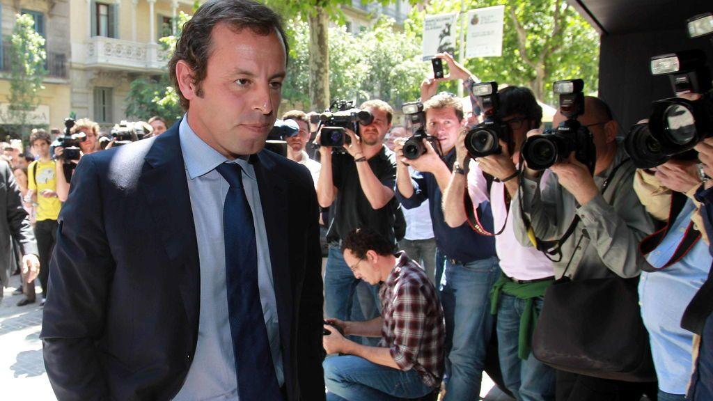 Detenido el expresidente del Barcelona, Sandro Rosell, por blanqueo de capitales
