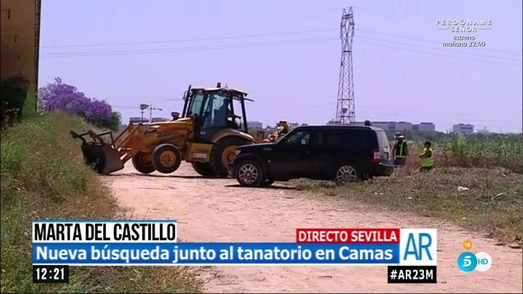 Se activa una nueva búsqueda de Marta del Castillo junto al tanatorio de Camas (Sevilla)