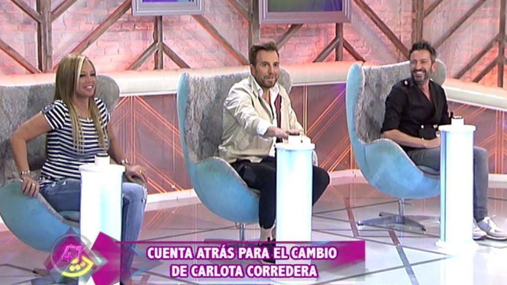 Belén Esteban, Raúl Prieto y David Valdeperas.