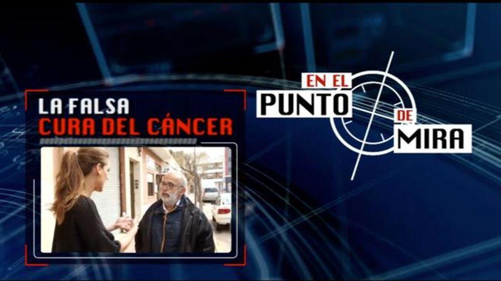 'En el punto de mira' lleva al Congreso  su investigación sobre las terapias alternativas para curar el cáncer