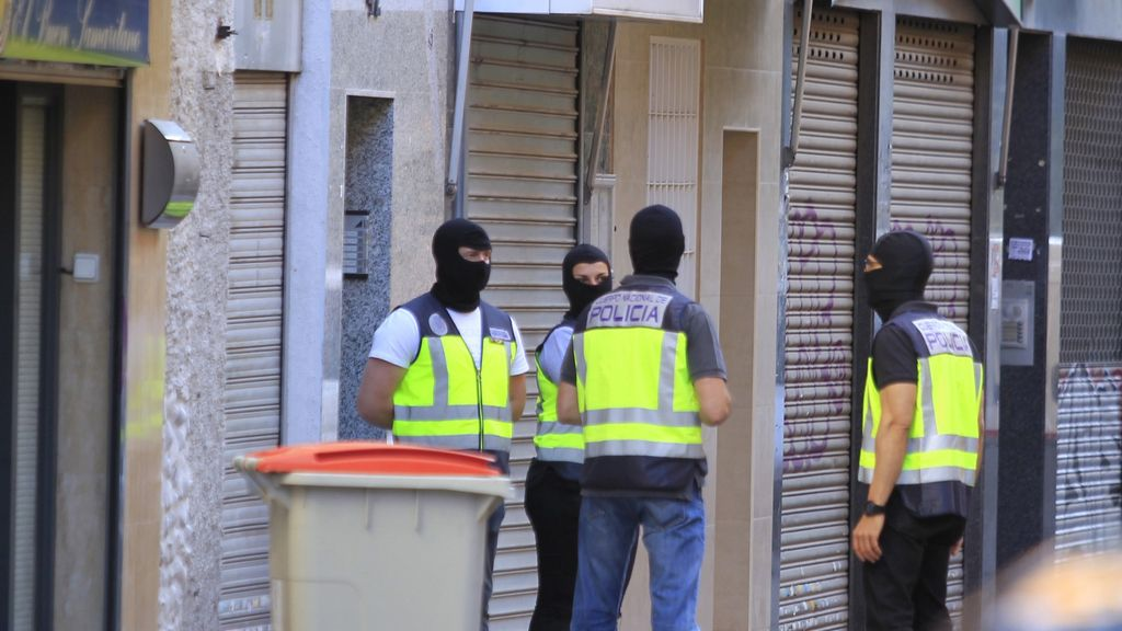 Operación antiterrorista en Madrid