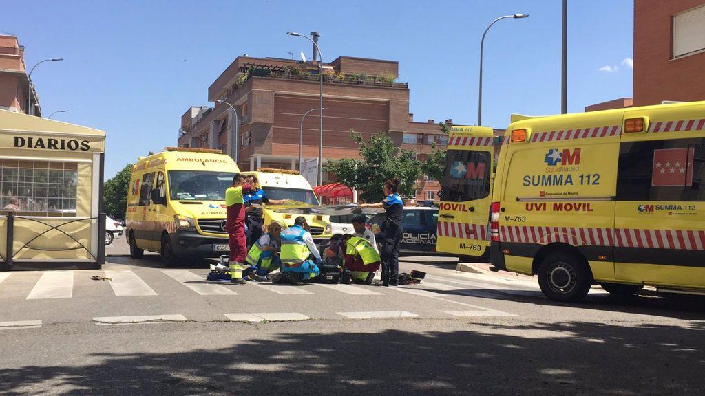Muere un anciano en Torrejón (Madrid) tras una discusión de tráfico