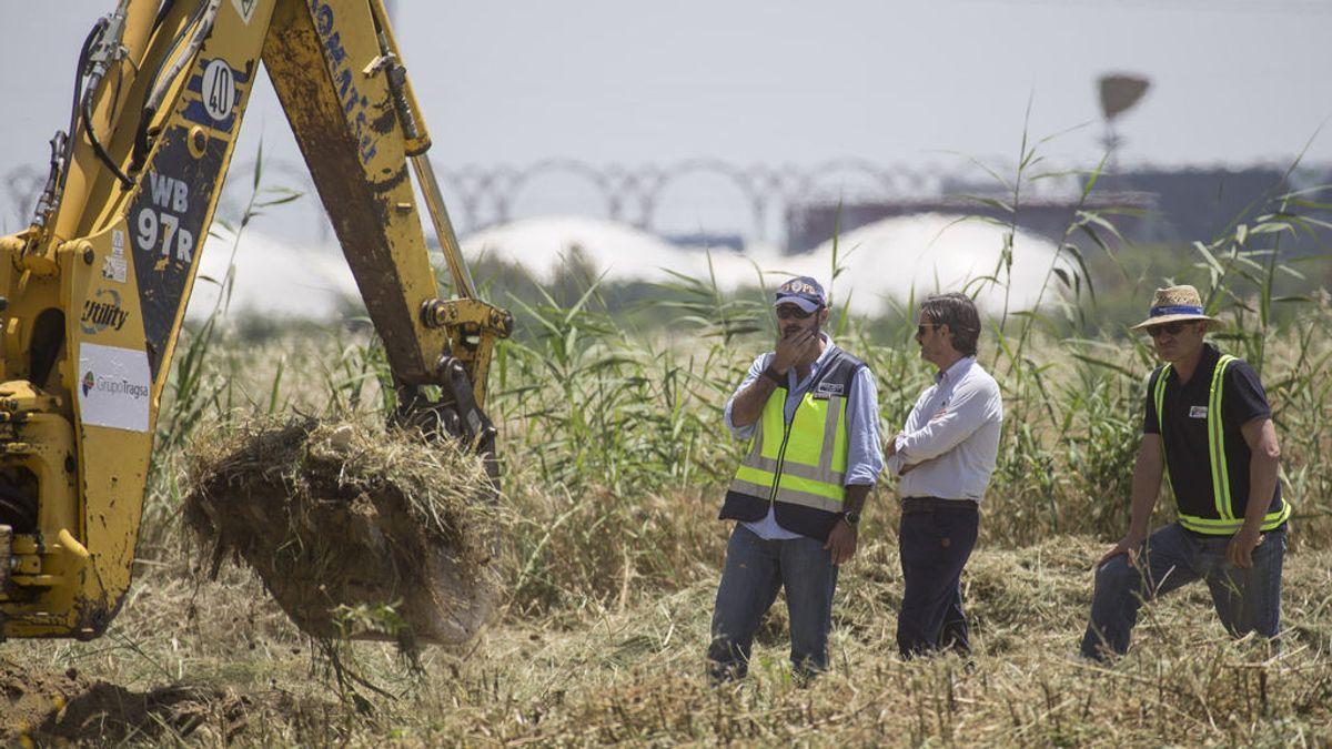 Sin pistas del cuerpo de Marta del Castillo en el inicio de la nueva búsqueda en Camas (Sevilla)