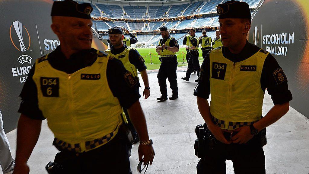 La alerta es máxima: así es el despliegue de seguridad para la final de la Europa League