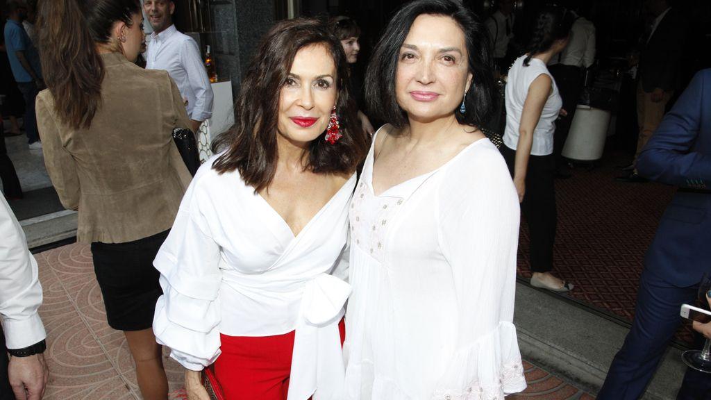 Teria Yabar y Amparo Fernández