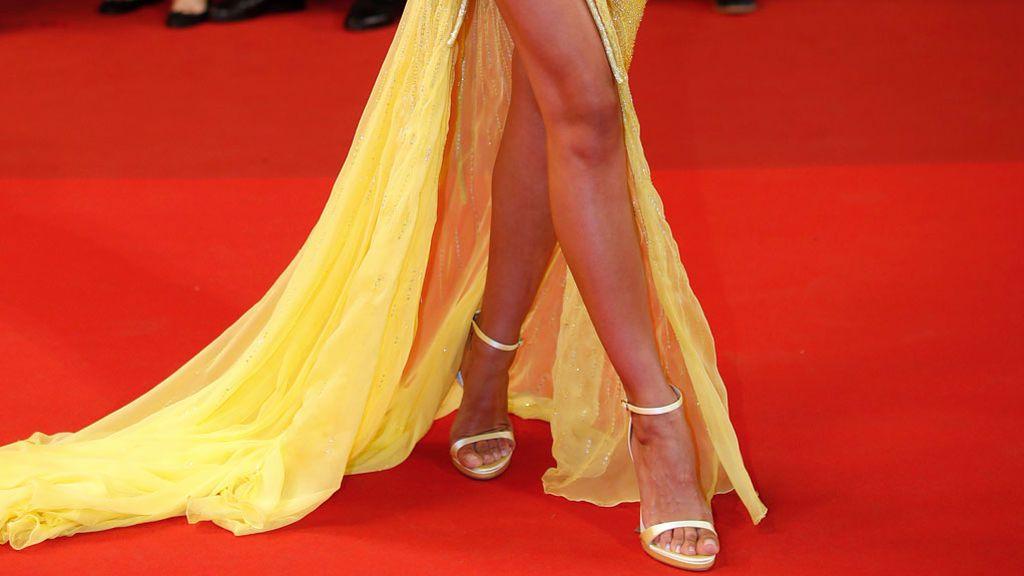 Irina Shayk reaparece en Cannes dos meses después de dar a luz