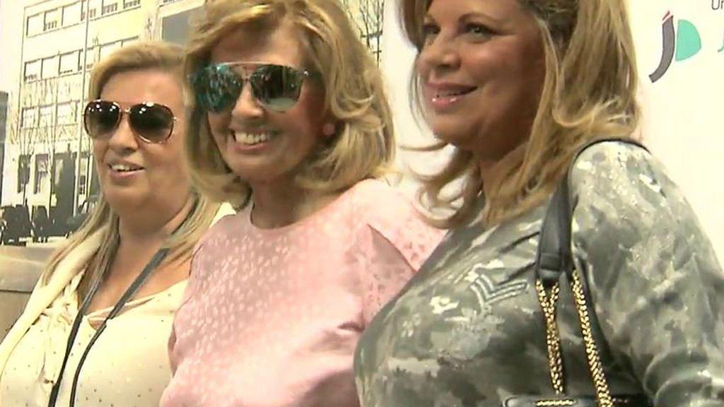 Primeras imágenes de Teresa Campos tras recibir el alta hospitalaria