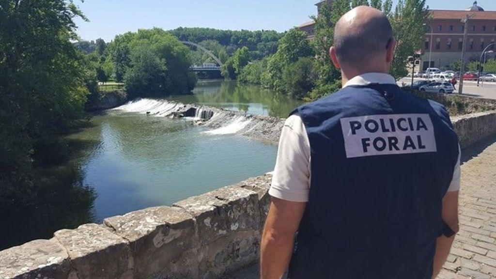 Aparece en el río Arga el cadáver del joven desaparecido en Pamplona