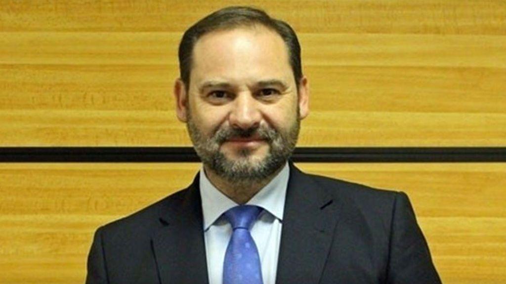 José Luis Ábalos,  jefe de campaña de Pedro Sánchez , portavoz provisional del PSOE en el Congreso