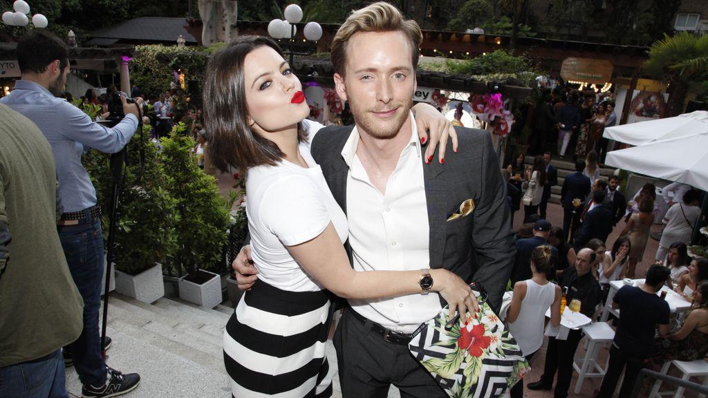 Adriana Torrebejano y Pablo Rivero, pareja de guapos