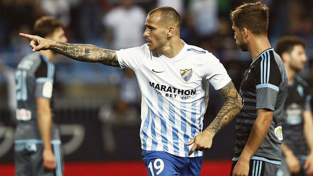 """Sandro desmiente un bulo sobre el Málaga-Real Madrid: """"Es una vergüenza"""""""