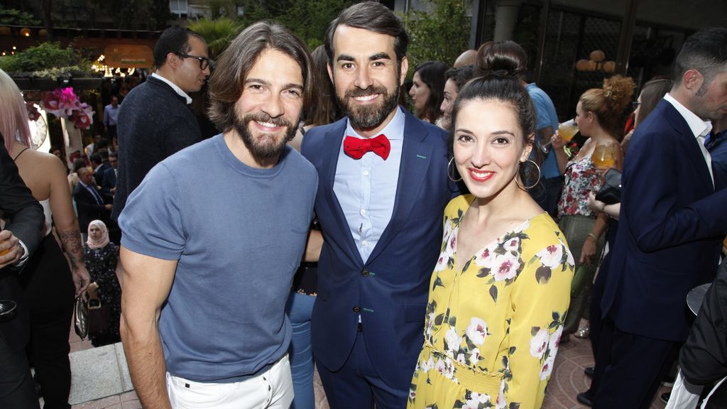 Félix Gómez, Daniel Muriel y Carolina Lapausa