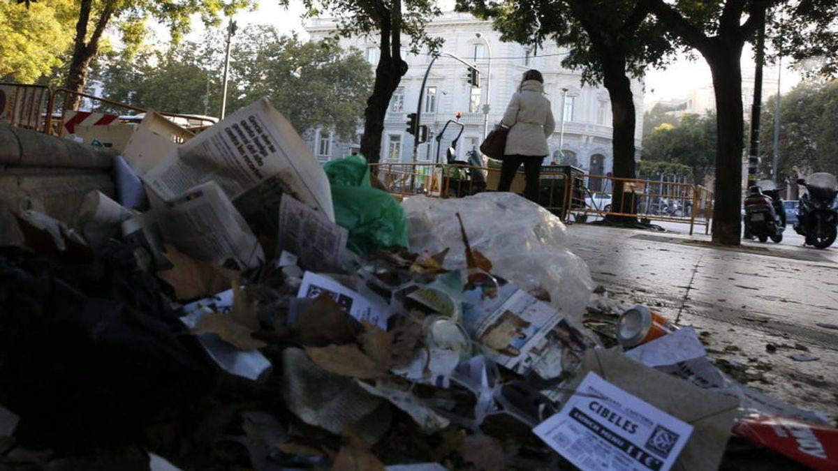 Sindicatos convocarán huelga indefinida de basuras en Madrid a partir del 12 de junio