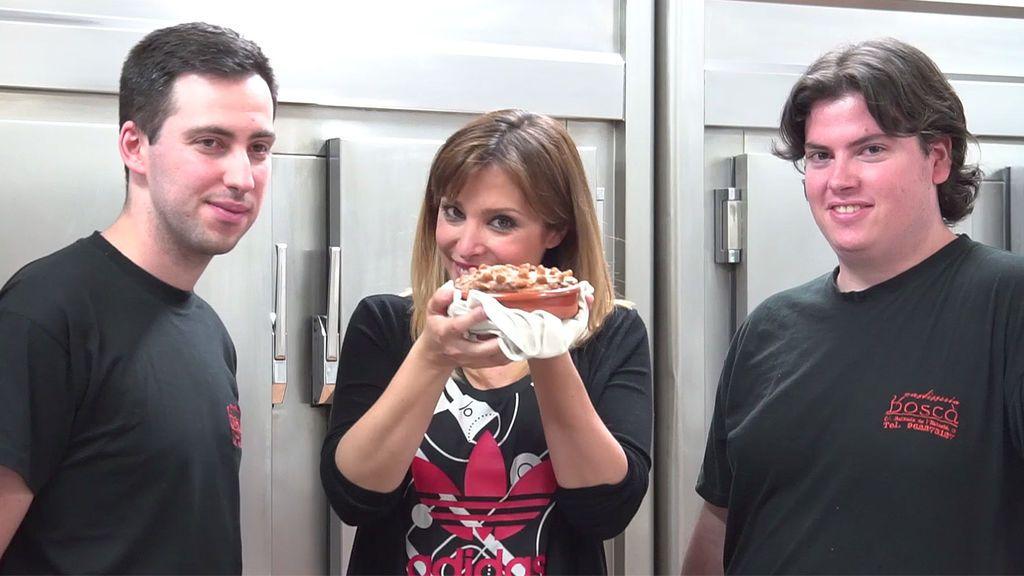 Gisela 'foodie': hoy prepara un postre sin gluten... ¡para chuparse los dedos!