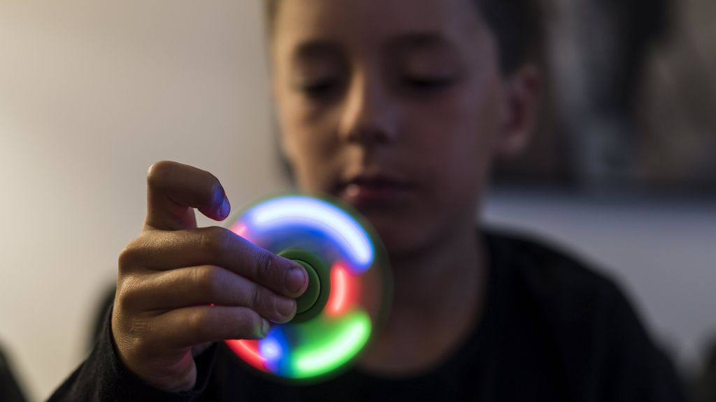 El Spinner es un juego, no un tratamiento para los niños con déficit de atención
