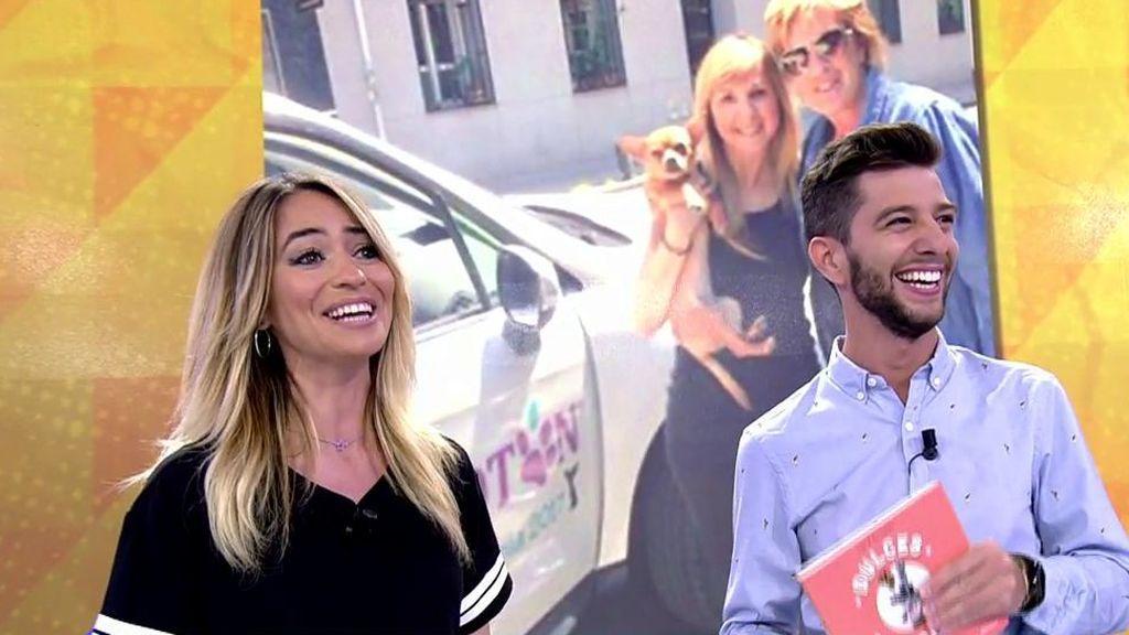 María Verdoy y Jaime Astuy, de 'Morninglory', sorprenden a Paz Padilla