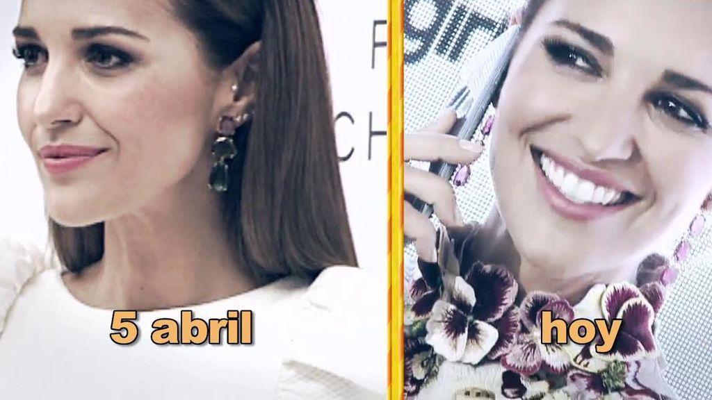 Las diferencias entre la primera aparición de Paula Echevarría y la última