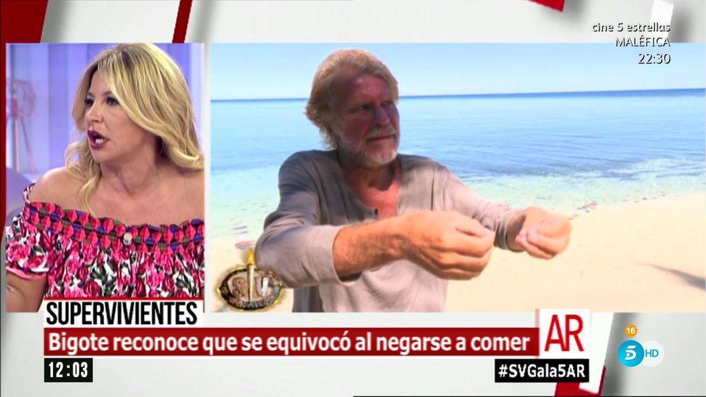 """Cristina Tárrega, sobre Bigote Arrocet: """"Ha entrado en un bucle que no tiene sentido"""""""