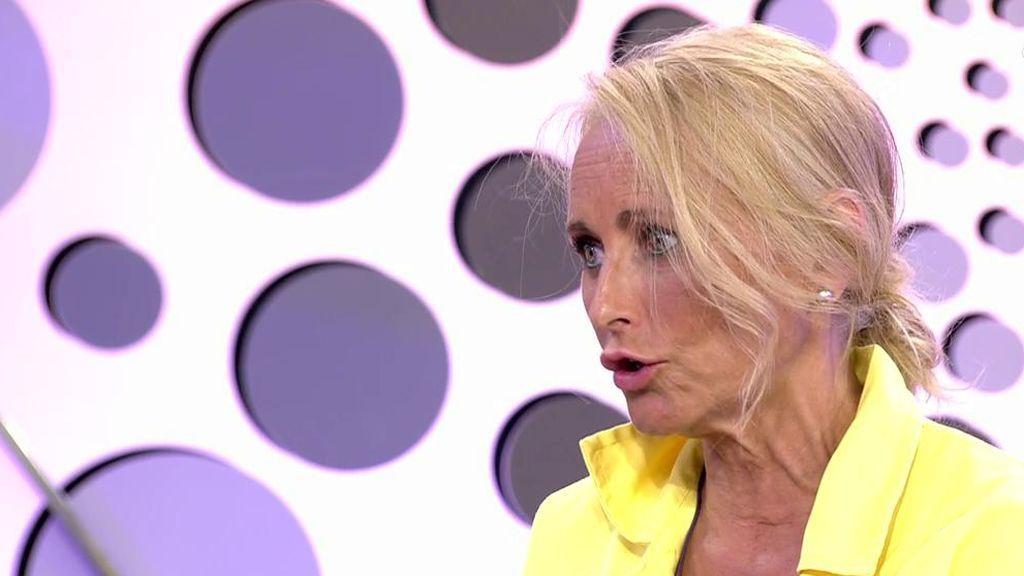 Lucía Pariente explica su cambio de actitud