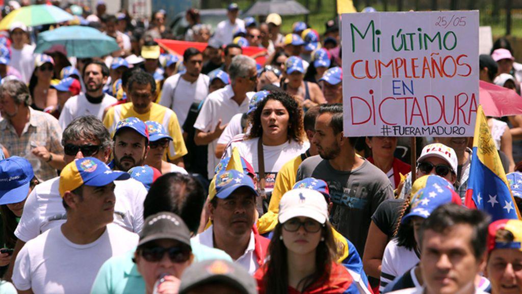 Manifestación, Venezuela, Maduro