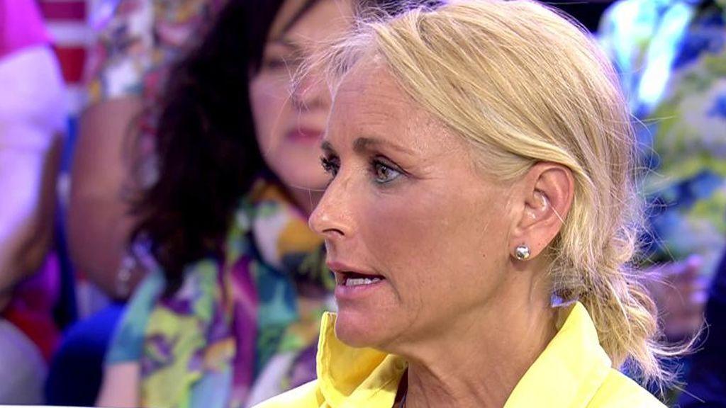 """Lucía Pariente, al ver llorar a su hija en 'SV': """"Tan desagradable como lo que dijo Kiko es la incitación de Leticia"""""""
