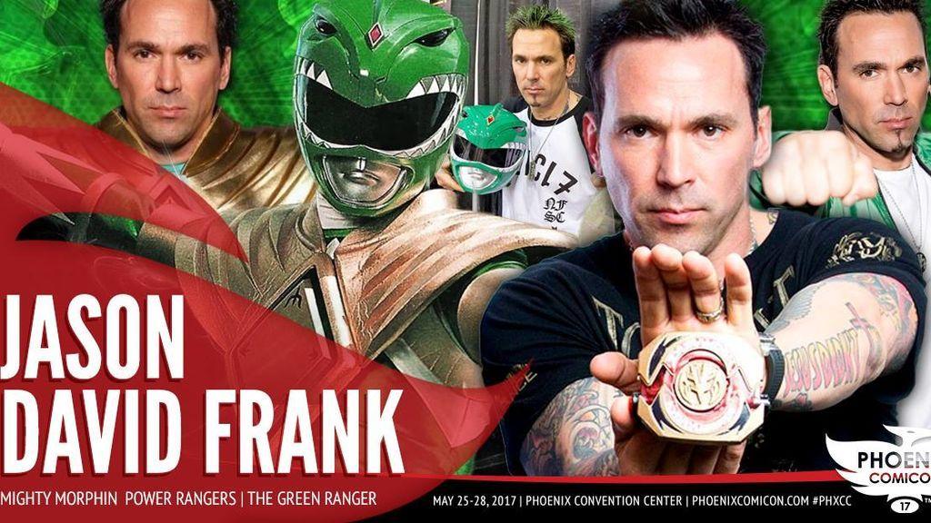 Detenido un hombre tras intentar matar al Power Ranger verde en la ComicCon