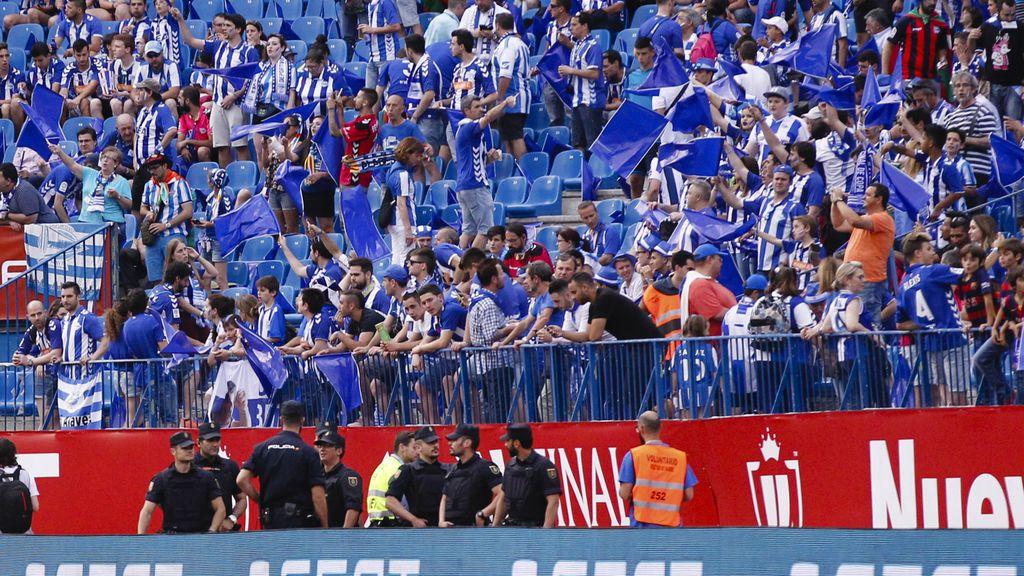 ¡Impresionante! El 10% de Vitoria se desplaza a Madrid para animar a su Alavés en la final de la Copa del Rey