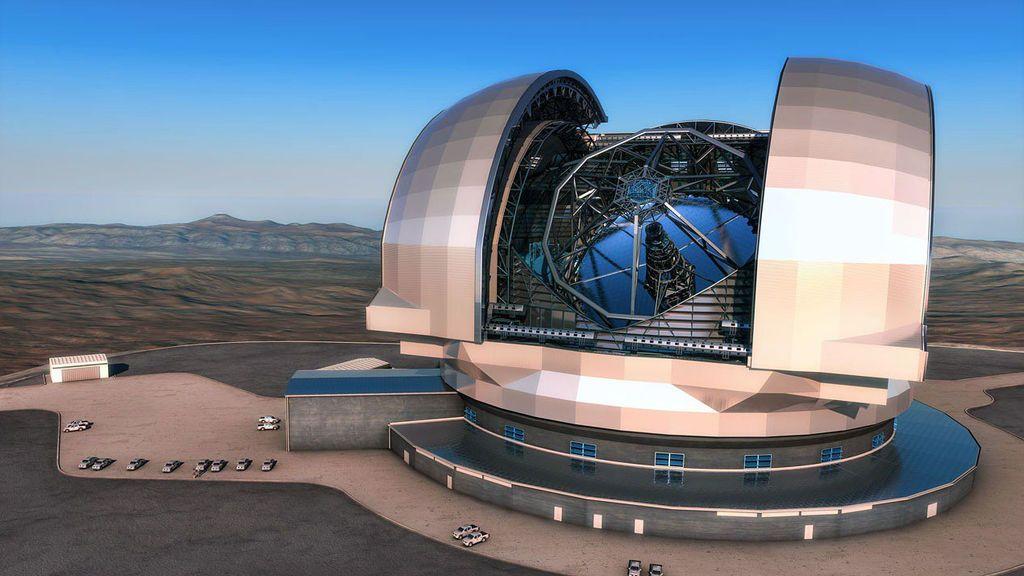 Comienza la construcción del telescopio más grande de mundo en Chile