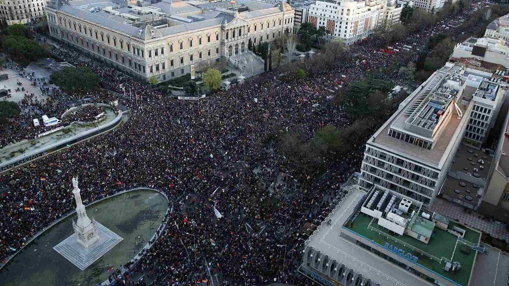 """Las Marchas de la Dignidad exigen el fin de la precariedad laboral y del """"feminicidio"""""""