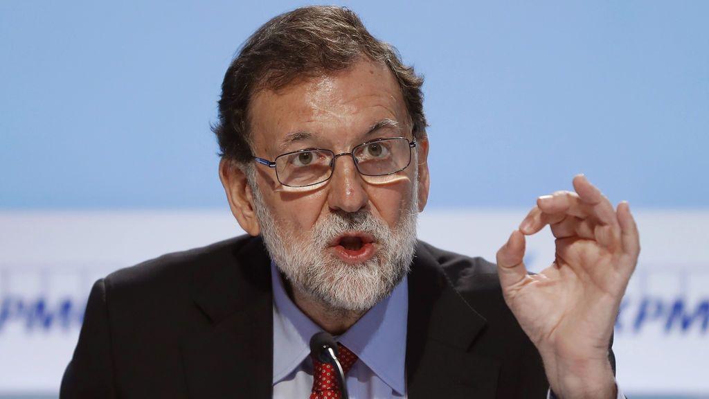"""Rajoy sobre el referéndum: """"Ni quiero, ni me lo creo, ni se va a producir"""""""