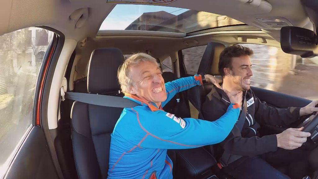 ¡Ahora lo entendemos! Fernando Alonso explica que entrena su cuello a diario