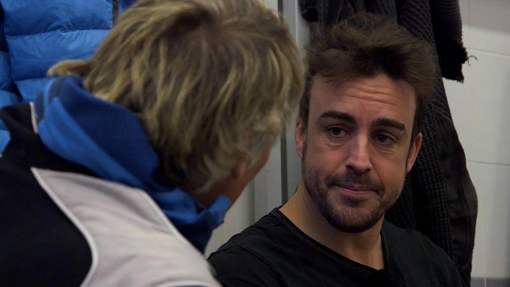 """Fernando Alonso se emociona hablando de su abuela: """"La echo de menos a diario"""""""